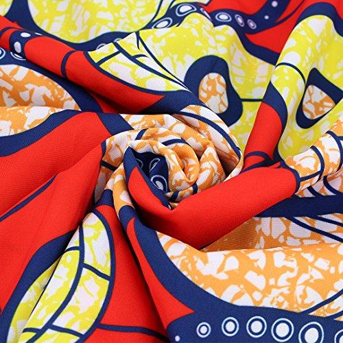Novias Boutique  Damen A-Linie Rock Rot