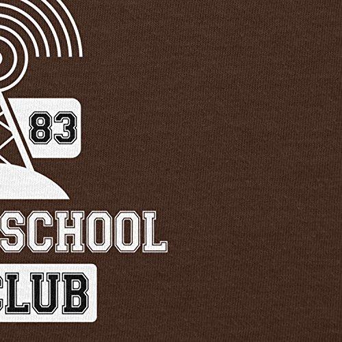 NERDO - Hawkins AV Club - Herren T-Shirt Braun