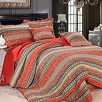 Amazon.fr : Orange   Dessus de lits et couvre lits / Linge de lit