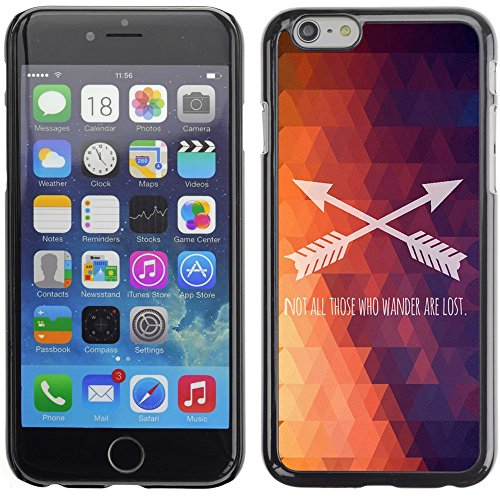 Graphic4You Be Fearful Of Mediocrity Englisch Zitat Nachricht Harte Hülle Case Tasche Schutzhülle für Apple iPhone 6 Plus / 6S Plus Design #2