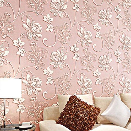 Fletion Moderne Extradicke Non-Woven Blumen Muster 3D Dreidimensionale Schlafzimmer Wohnzimmer Tapete TV Hintergrund