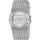 Just Cavalli - R7253277545 - Rich - Montre Femme - Quartz Analogique - Cadran Argent - Bracelet Acier Argent