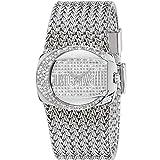 Just Cavalli Damen-Armbanduhr RICH Analog Quarz Edelstahl R7253277545