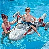 Star Wars X-Fighter - Reittier Badetier Aufblasbare für absoluten Badespaß ! Mit Haltegriff. Größe aufgeblasen: ca. 150 x 140 cm Badespaß für Kinder / aufblasbarer Turtle / Kinderbadeartikel Schildkröte / aufblasbares Reittier Schildkröte / aufblasbare Badetiere / aufblasbare Badeartikel für Kinder / aufblasbare Badetiere Turtle / Testudinata, Testudines / der ideale Badespass für Schwimmbad , See , Strand oder Bade Urlaub