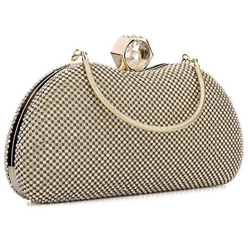 YYW Sparkly Evening Bag, Poschette giorno donna Silver