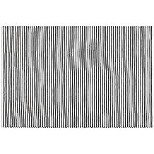 Creative carpets Alfombra para Interiores y Exteriores, Blanco y Negro, 200 x 300