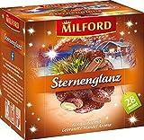 MILFORD Sternenglanz Rooibostee mit Gebrannte-Madel-Aroma 28 Beutel à 2 g, 6er...