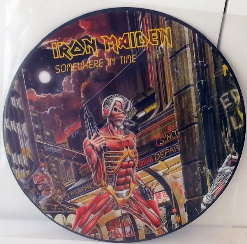 IRON MAIDEN somewhere in time, picture disc, PLP 24-05971 - Iron Maiden Somewhere In Time