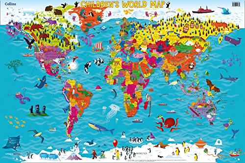 Collins Children's World Map par Collins Maps