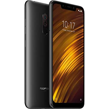 POCOPHONE F1 by Xiaomi - 6GB RAM and 64GB Storage (Dual Sim) - UK Sim-Free Smartphone - 6.18-Inch Android 8.1 Oreo with - Graphite Black (Official UK Launch)