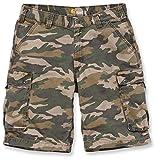 Carhartt Rugged Cargo Camo Shorts 30 Khaki
