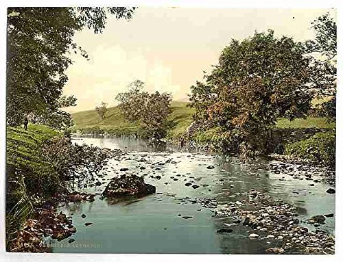 Photo The Ribble at Horton Yorkshire A4 10x8 Poster Print