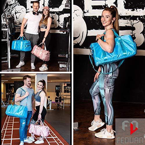 FEDUAN Damen Sport- & Reisetasche, Pink - 2