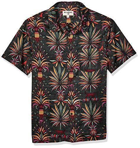 Billabong Men's Sundays Floral Short Sleeve Woven Shirt -