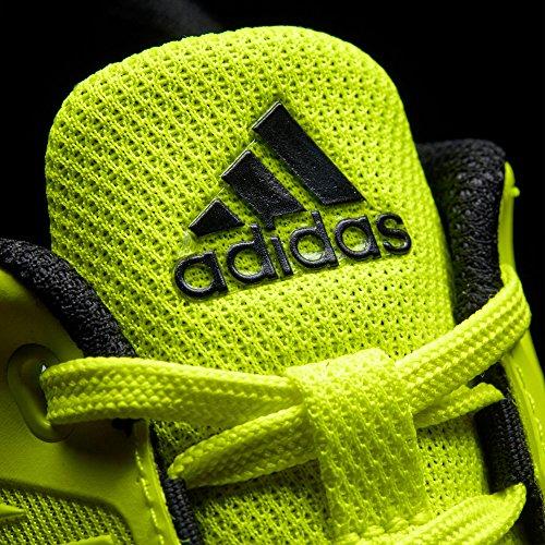 adidas Fortarun K, Scarpe da Ginnastica Unisex – Bambini Giallo (Amasol/Ftwbla/Negbas)