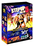 Step Up (5 Movie Collection) - 5-DVD Box Set ( Step Up / Step Up 2 - The Streets / Step Up 3 / Step Up 4 - Miami Heat / Step Up 5 - All In ) [ UK Import ]