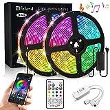 Elfeland LED Streifen 10M LED Stripes RGB 5050SMD...