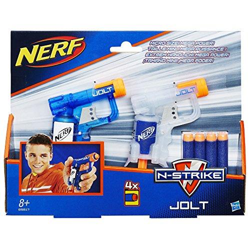 Preisvergleich Produktbild Hasbro B5817 - Nerf N-Strike Jolt 2 Pack, mehrfarbig