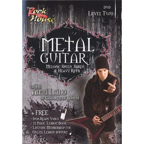 The Rock House: Metal Guitar - Level Two (DVD). Für Gitarre (House Metal Guitar Rock)