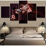 Xvhsx Leinwanddrucke 5 Panels Scream Movie Leinwand Gem/älde Wohnkultur Vintage Wandkunst Bild F/ür Wohnzimmer