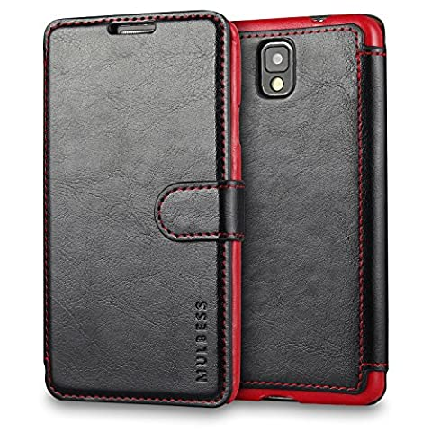 Etui Flip Cover Galaxy Note 3 - Coque Galaxy Note 3,Mulbess [Credit Card Slot