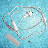 Prilux - Cable alimentación corriente alterna/corriente continua hilo led blanco