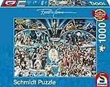 "Schmidt Spiele Puzzle 59398 - Puzzle ""Renato Casaro"", 1000 Teile, Hollywood -"