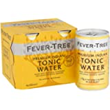 FEVER-TREE Indian Tonic Water, 4 x 150 ml (Pack of 6, Total 24 Cans)