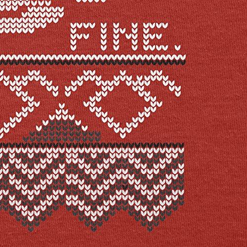 Texlab–damn fine Coffee–sacchetto di stoffa Rot