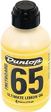 Dunlop DL PF 00004 6554 Lemon Oil 4 oz Griffbrett Ultimate Zitronen/Lemon Oil