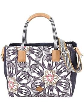 Oilily Damen Handbag Henkeltasche, Grau (Charcoal), 13 x 23 x 28 cm