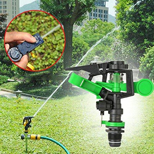 TOPmountain Sprinkler en Rotation 360 degrés Buse d'arrosage Irrigation pulvérisation Dripper pour Le Jardin Parc Agricole