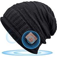 Cappello Bluetooth 5.0 Regali Natale Donna - Musica Berretto Idee Regalo Uomo & Donna Economici, Cappello Bluetooth con…