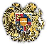 Armenia Coat Of Arms Pegatina de Vinilo Para la Decoracion del Vehiculo 12 X 12 cm