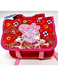 Mochila Guardería Peppa Pig Carpeta Mochila Original Escuela New oferta 2016