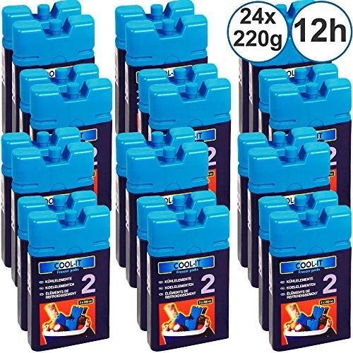 Deuba 12 Stück Kühlakkus Akkus Kühlelemente Kühltasche Kühlbox Eisbox Kühlpack