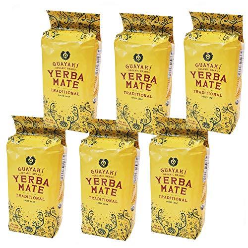 Guayaki Organic Fair Trade Yerba Mate Traditional Blend (box of 6)