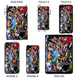 DC Marvel Comic Book Coque pour Apple, Marvel Spiderman - Black, iPad Air