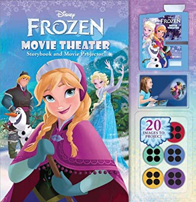 Disney Frozen Movie Theater: Storybook & Movie Projector de Readers Digest