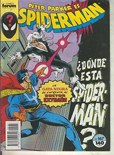 Spiderman volumen 1 numero 167