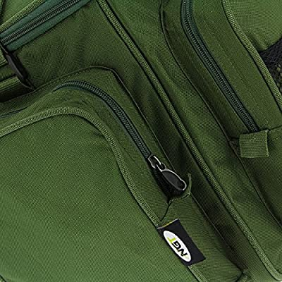NGT Unisex Insulated Carp Fishing with Mesh Front Pocket Carryall, Green, 52 x 36 x 42 cm by NGT