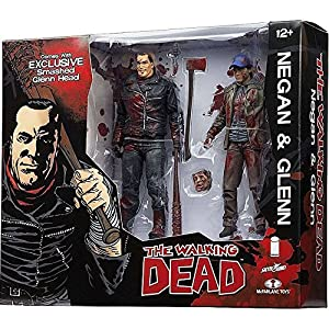 McFarlane Toys The Walking Dead Negan & Glenn Exclusive Action Figure [Full Color] by Walking Dead 5