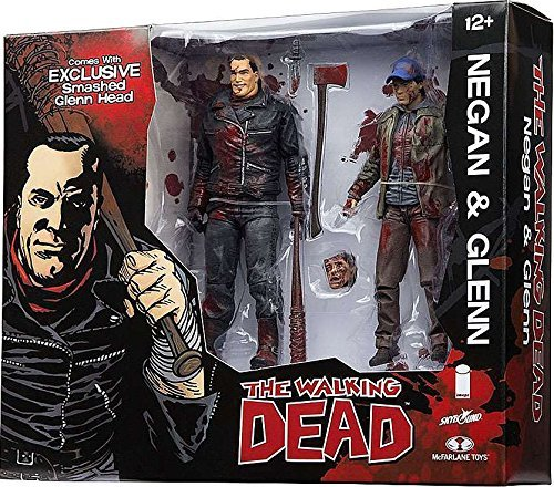 McFarlane Toys The Walking Dead Negan & Glenn Exclusive Action Figure [Full Color] by Walking Dead 1