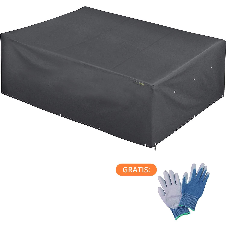 abdeckung schutzh lle abdeckplane f r gartenm bel 200 160 80 cm pvc beschichtet verklebte. Black Bedroom Furniture Sets. Home Design Ideas