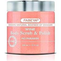 FABEYA Wine Body Scrub and Polish, 340 ml