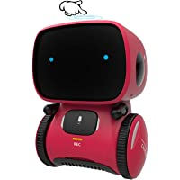 GILOBABY Kid Intelligent Robot Toys- Voice& Touch Control, Children Smart Robotic Toys for Girls, Toys Gift for age 3-9…
