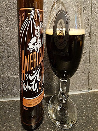 Stone Americano Imperial Stout, Stone Brewing Company, American Craft Beer Review [OV] -
