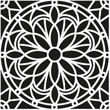 Artemio Mandala Plantilla Home Déco, plástico, Negro, ...