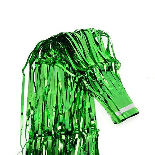 OWIKAR Party Regen Vorhang Folie Fransen reflektierend Glanz Vorhänge Hochzeit Bar Dekor Foto Hintergrund Wand Dekoration Party Lustig Gag Weihnachten Neujahr Geburtstag Supplies Rep
