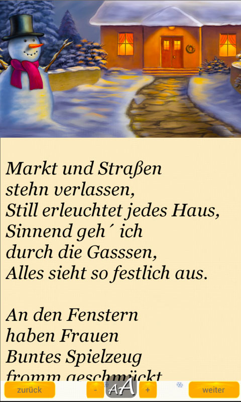 200 christmas poems in german appstore for android